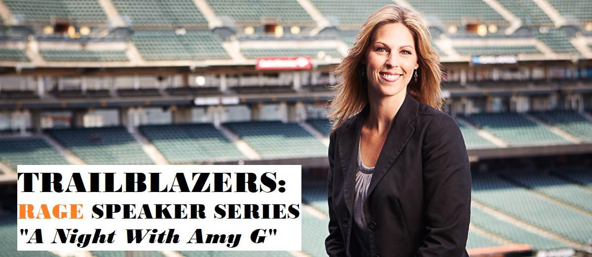 Trailblazers: RAGE Speaker Series 'A Night with Amy G'
