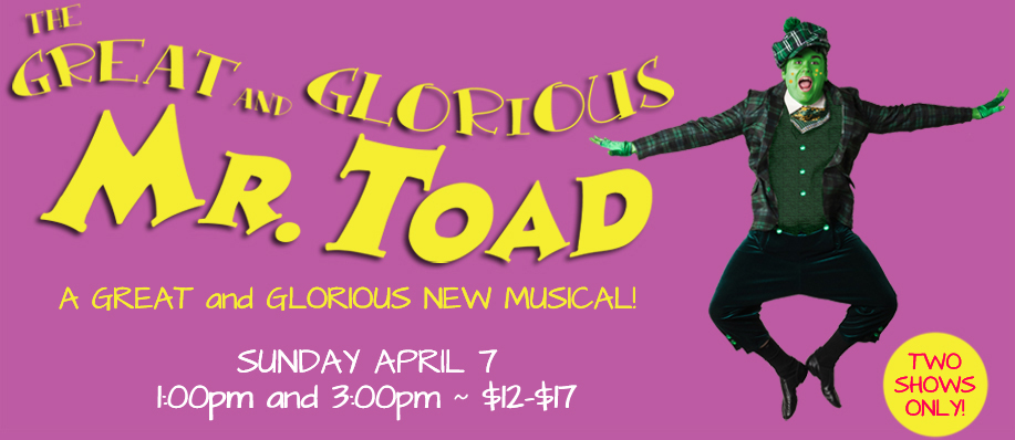East Bay Children's Theatre: The Great & Glorious Mr. Toad