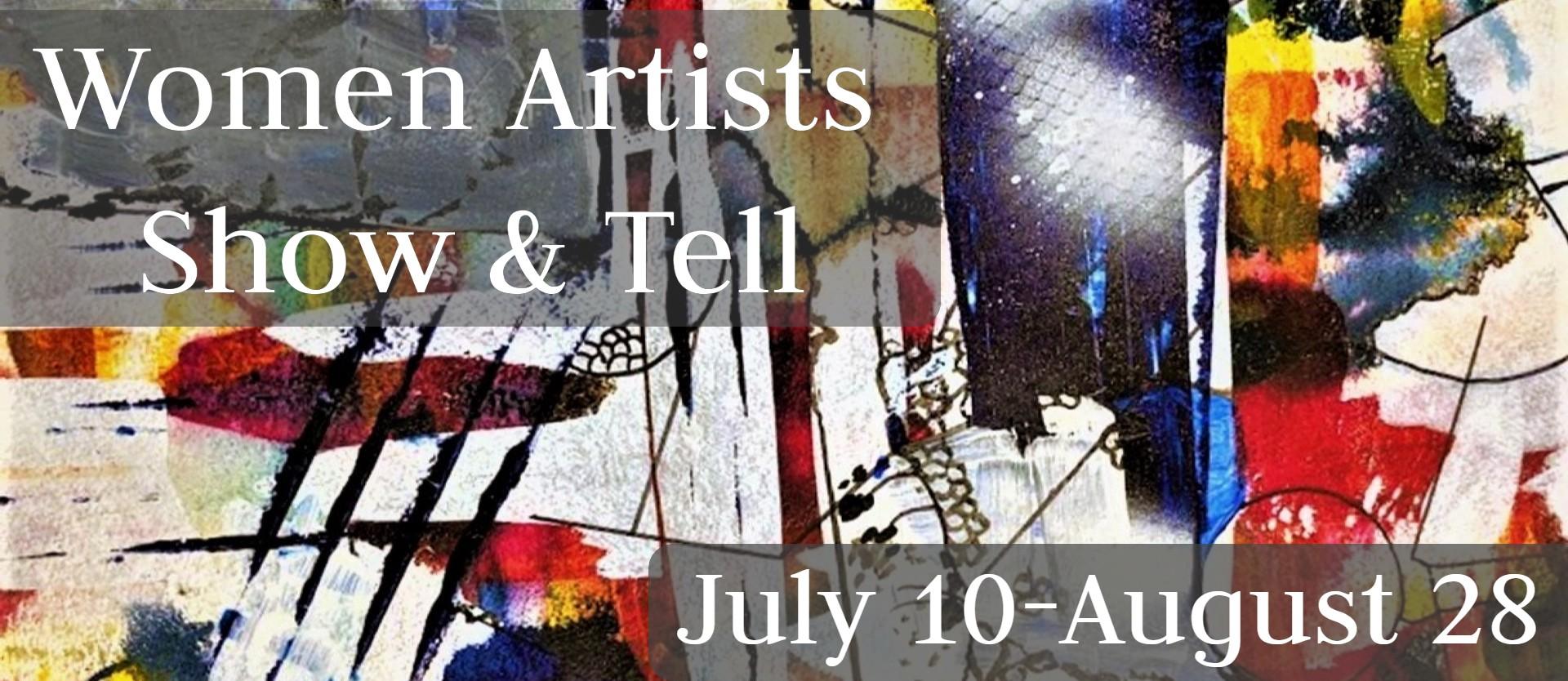 Women Artist Show & Tell