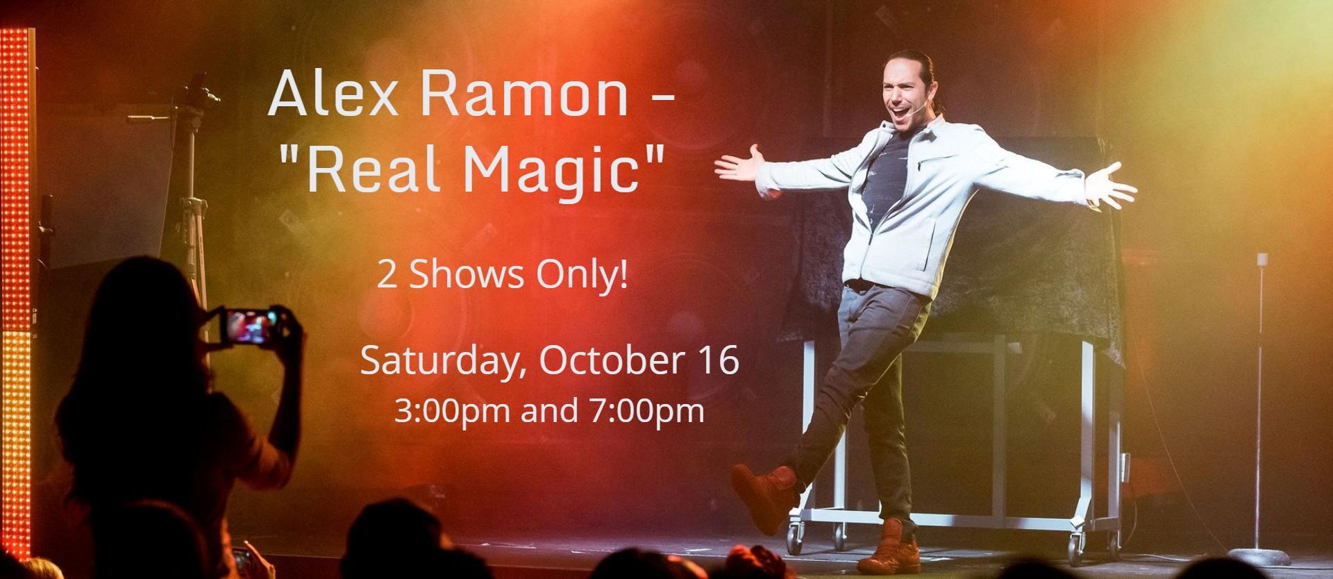 """Alex Ramon - """"Real Magic"""""""